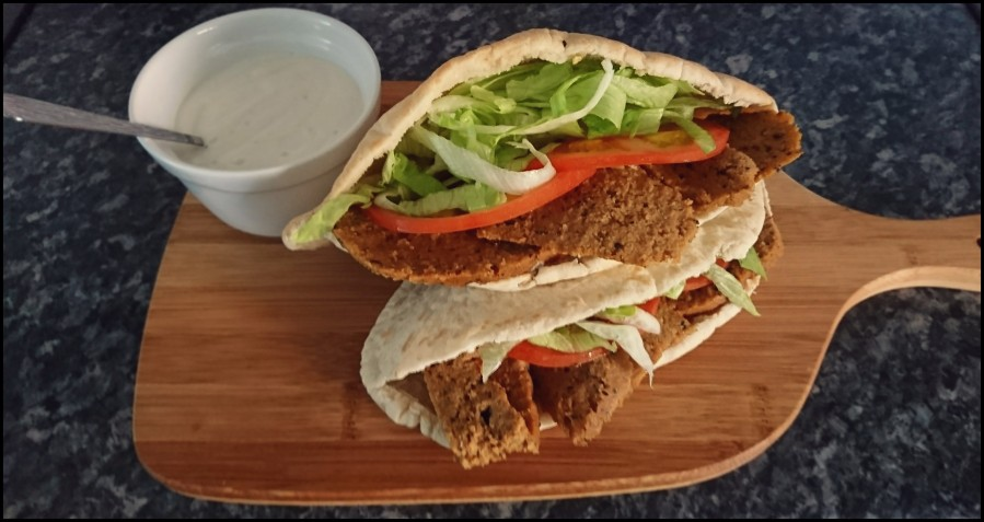 Doner Kebab – with Garlic Sauce