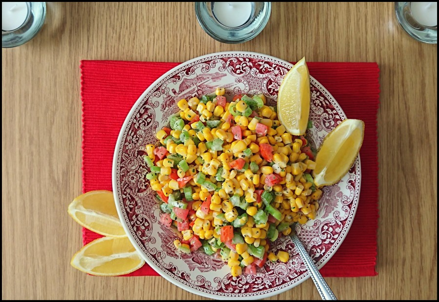 Summery Sweetcorn Salad