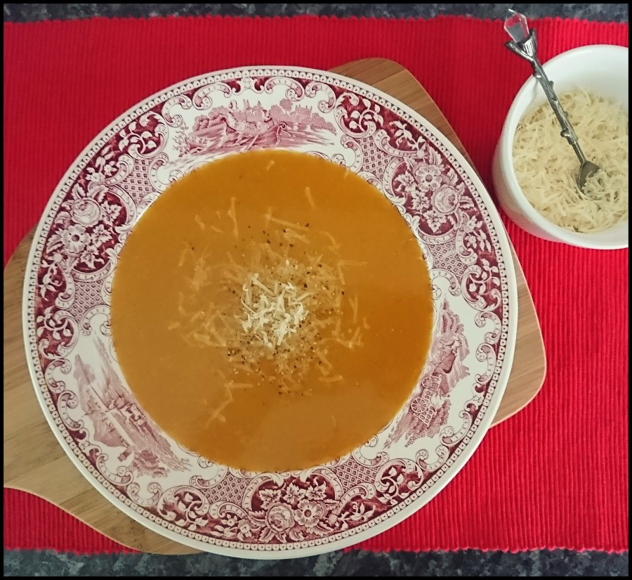 Spiced Roasted Butternut Squash Soup