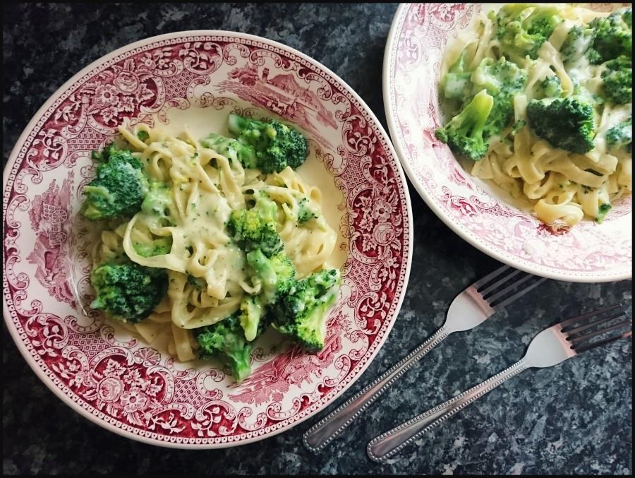 Broccoli & ParmesanTagliatelle