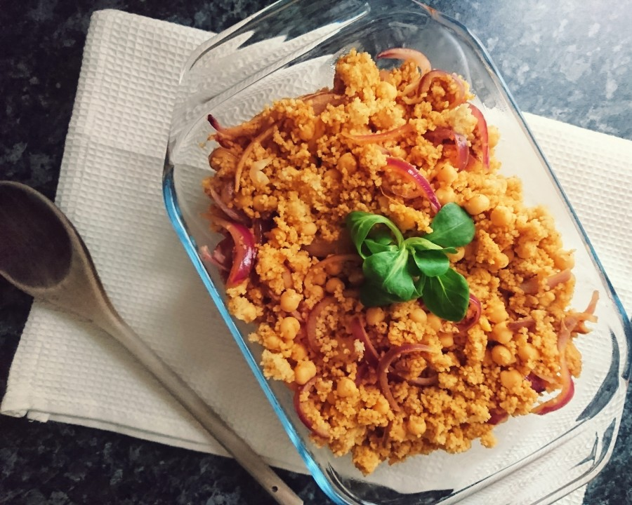 One Pot Curried Couscous