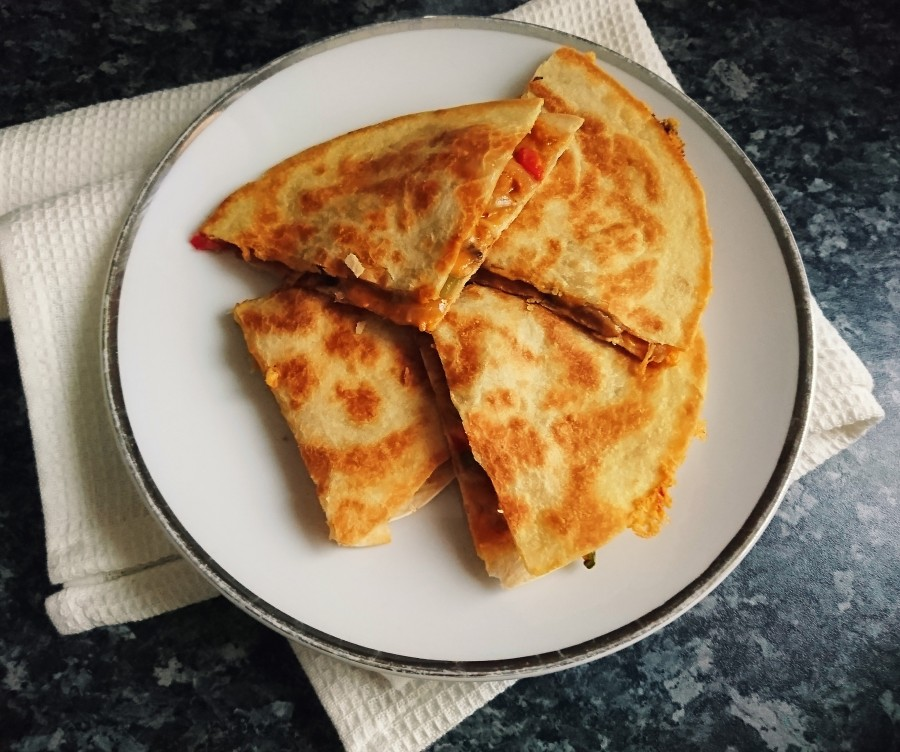 Easy Vegan Quesadillas