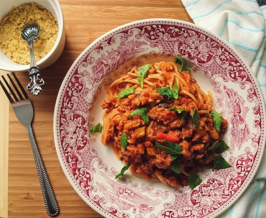 Classic Vegan SpaghettiBolognese