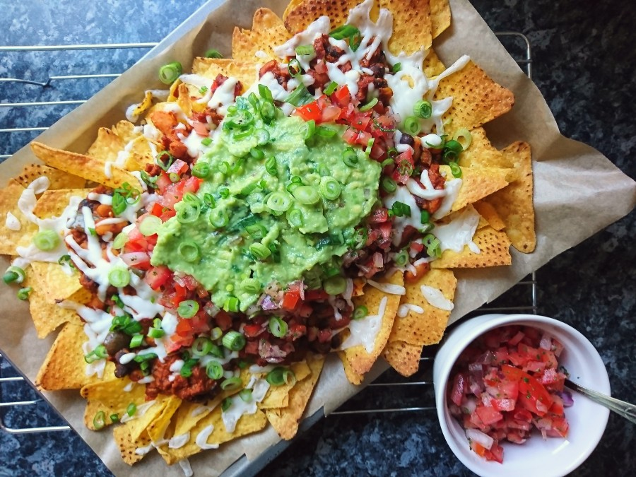 Loaded Chilli Cheese Nachos