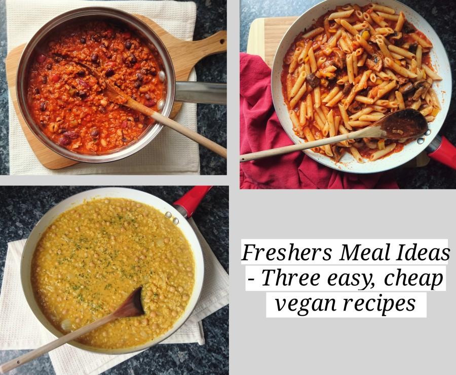 Freshers Meal Ideas