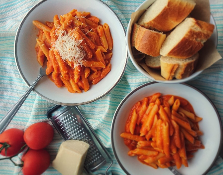 Roasted Pepper & Tomato Penne