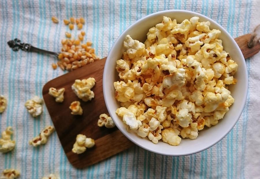 Vegan Toffee Popcorn