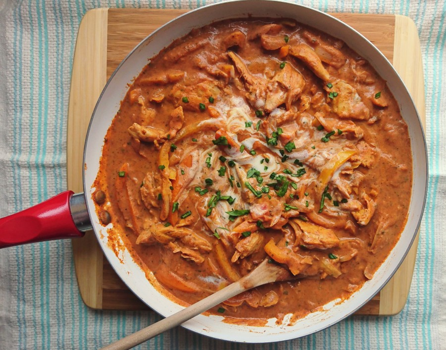"Easy ""Chicken"" Tikka Masala"