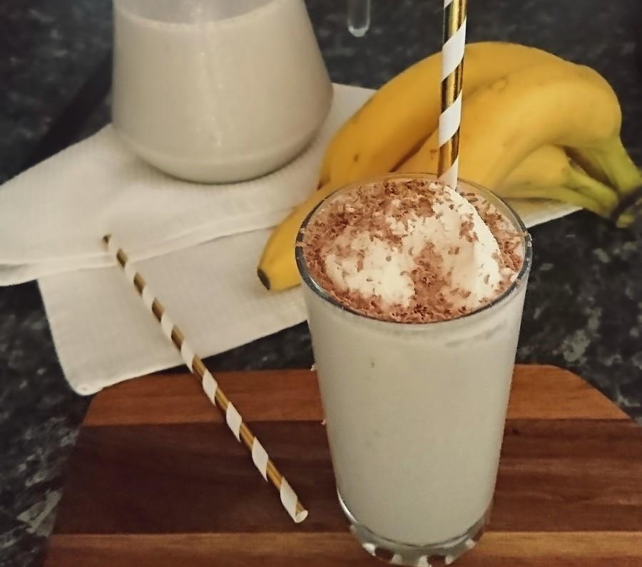 Banana & Vanilla VeganMilkshake