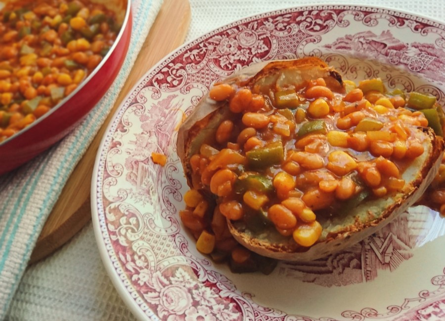 Easy Chilli Baked Beans