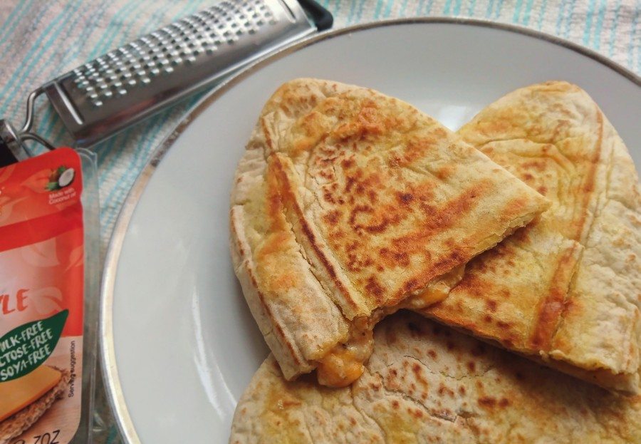 Easy Fried CheesyPittas