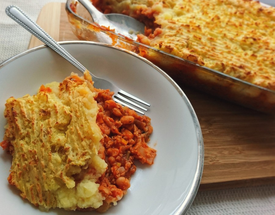 Baked Bean Cottage Pie