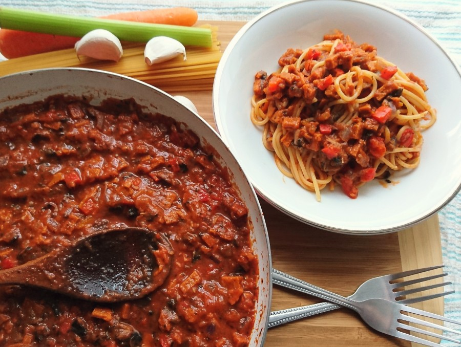 Vegetable and Chorizo Ragù