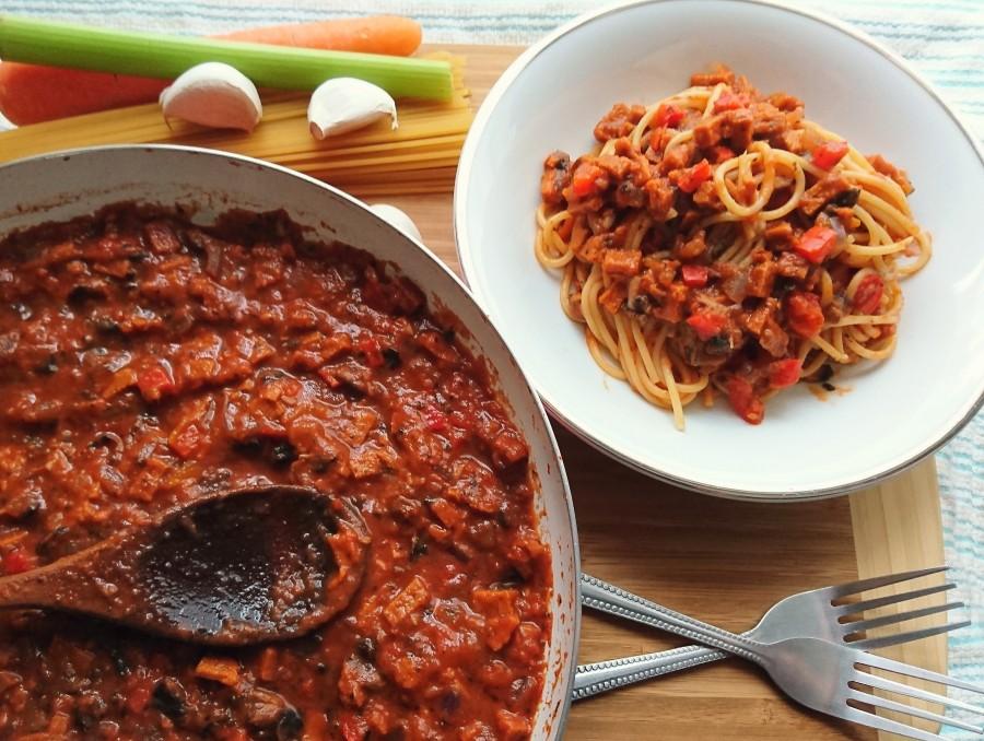 Vegetable and ChorizoRagù