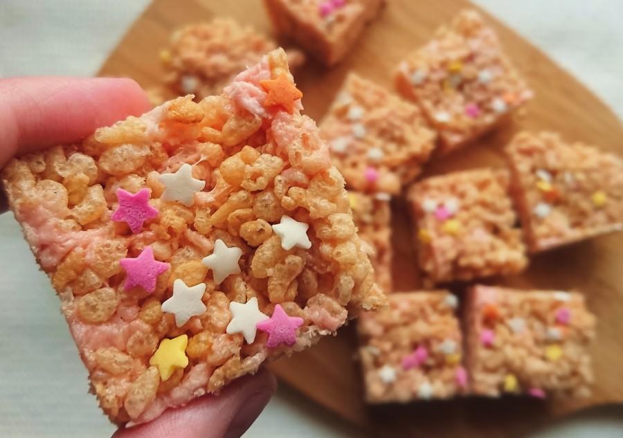 Vegan Rice KrispySquares