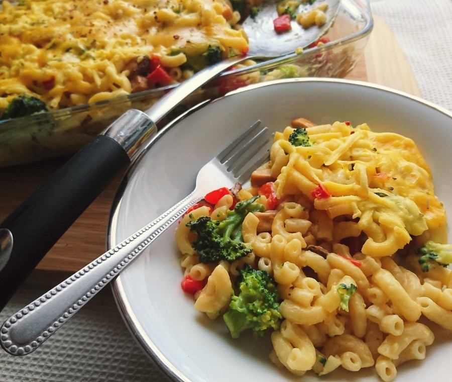 Vegan Vegetable Macaroni Cheese