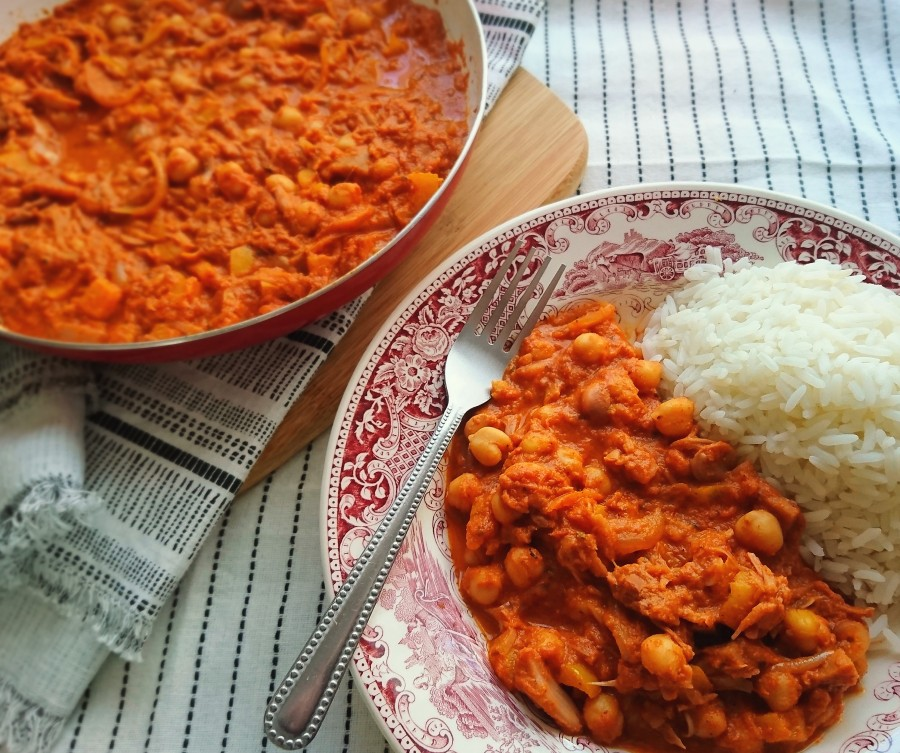 Jackfruit & Chickpea Curry