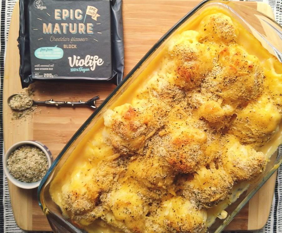 Vegan Cauliflower Cheese