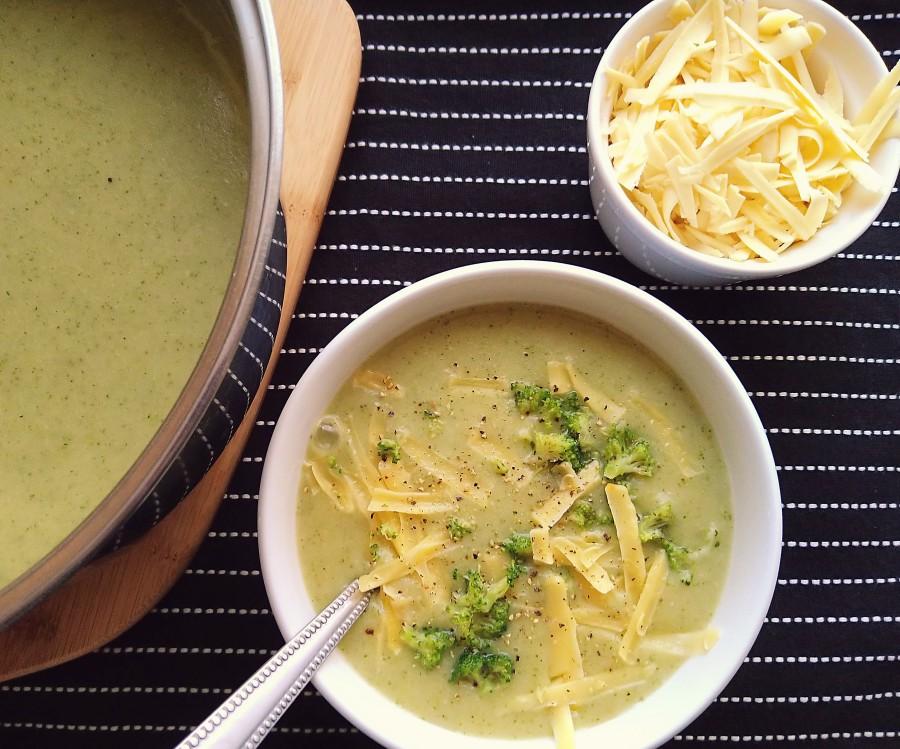 Vegan Broccoli & CheddarSoup