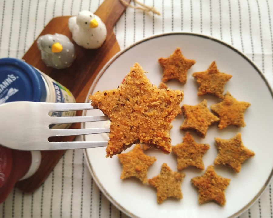 "Vegan ""Chicken"" Stars"