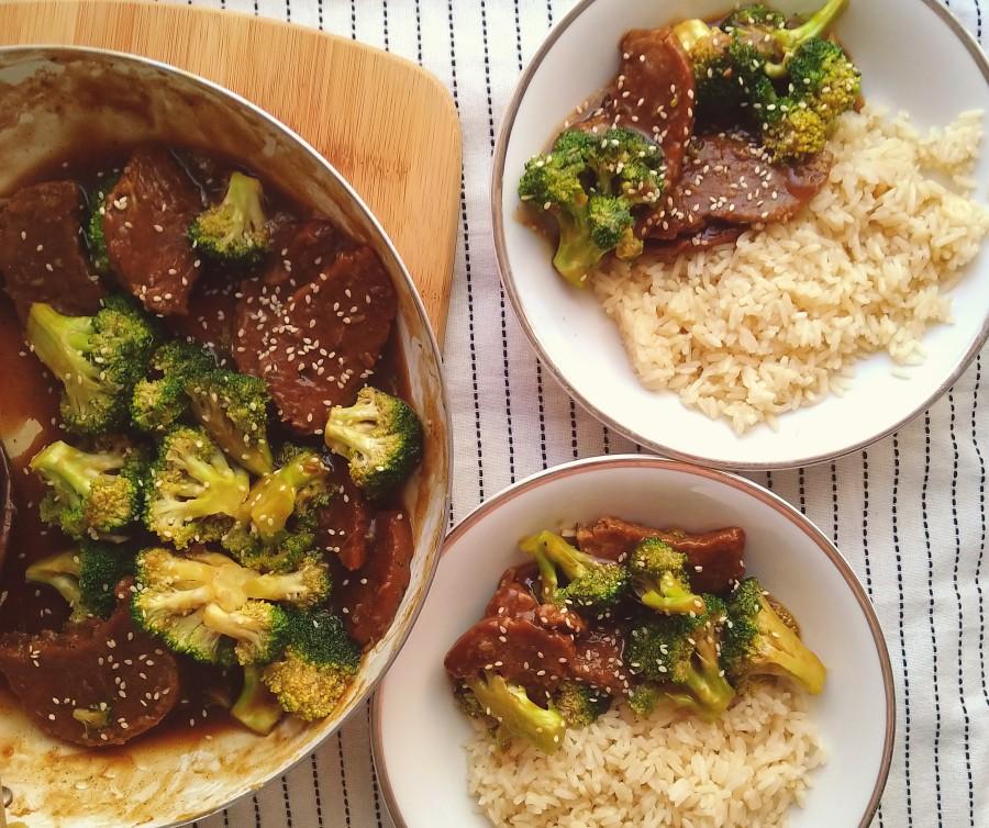 "Vegan ""Beef"" & Broccoli StirFry"