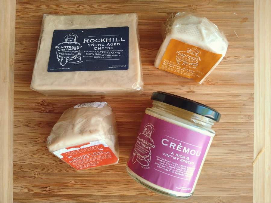 Dairy Free Cheeses by Food bySumear
